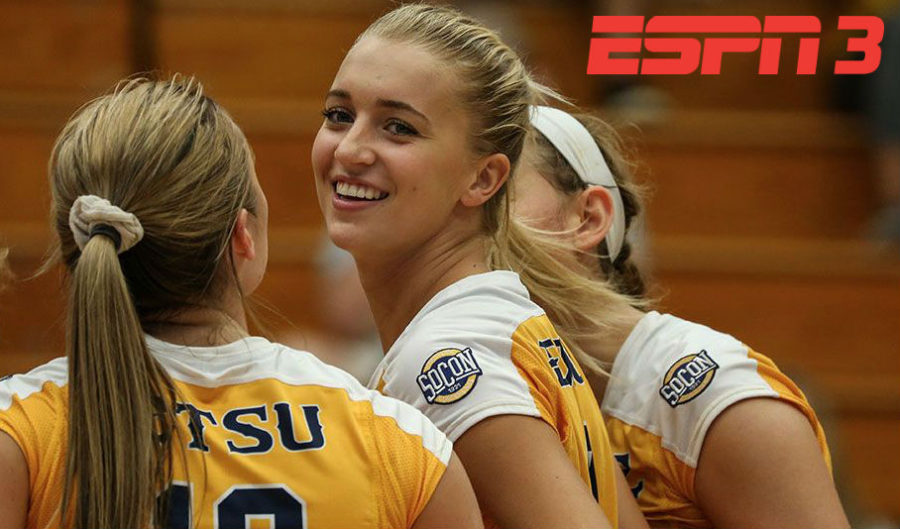 ESPN3 Schedule Women's Vollyball