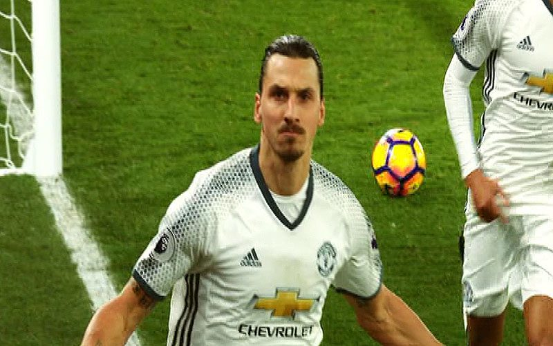 Zlatan Ibrahimovic of Manchester United