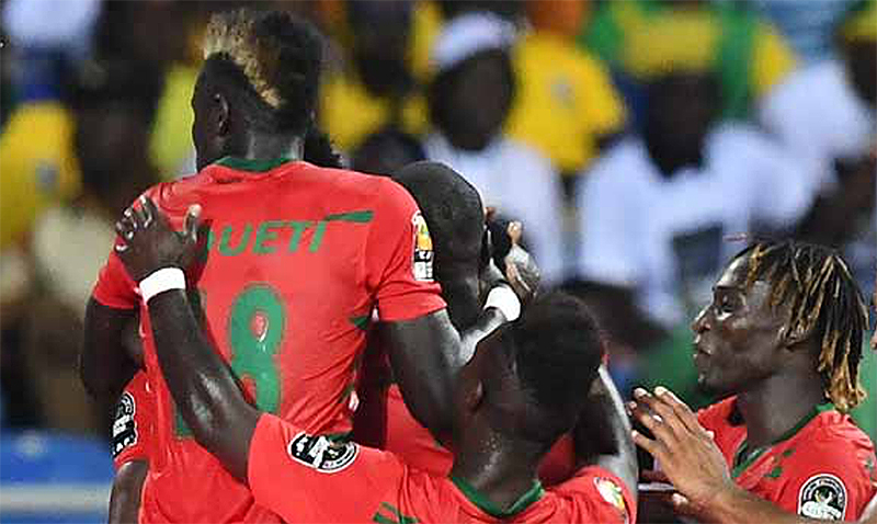 Guinea-Bissau score late to hold Gabon 1-1: Africa Cup of Nations 2017