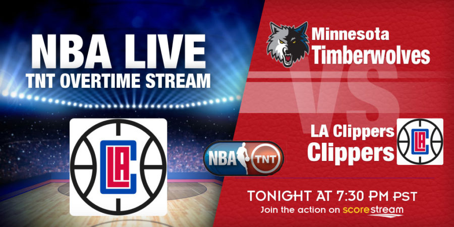TNT Overtime NBA Live Stream: Clippers v Wolves on Jan. 19