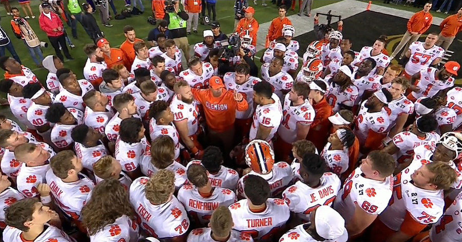 Clemson Tigers college football