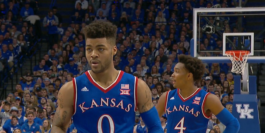 Frank Mason of the Kansas Jayhawks