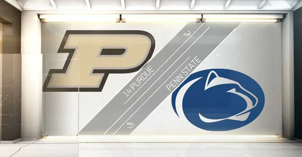 Purdue v Penn State College Basketball Scores