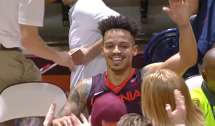 Seth Allen of Virginia Tech NCAA basketball