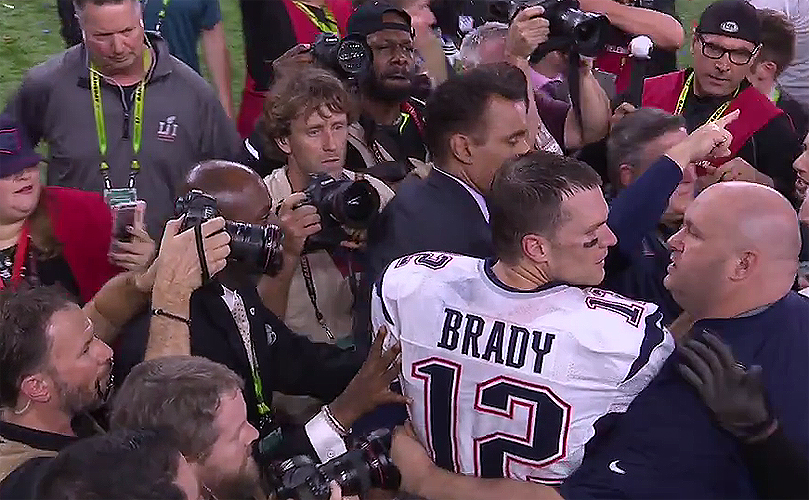 Tom Brady England Patriots win super bowl
