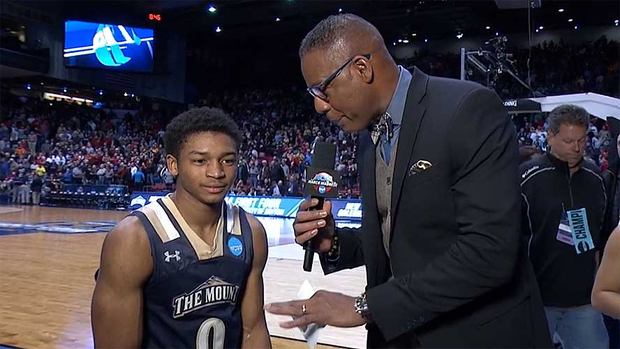 Junior Robinson: Mount St Mary's NCAA Tournament