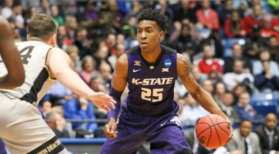 Wesley Iwundu of Kansas State