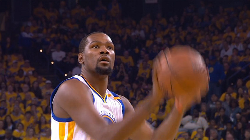 Kevin Durant of Golden State Warriors