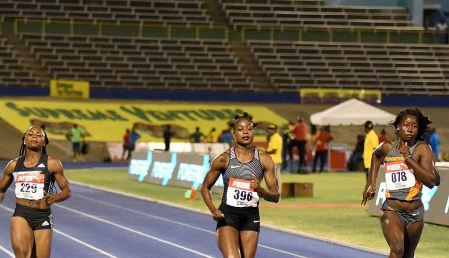 Elaine Thompson Jamaica Trials