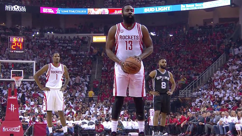 James Harden NBA Playoff