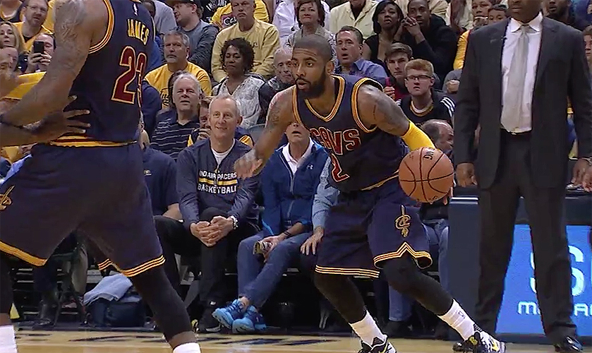 Kyrie Irving of the Cleveland Cavaliers