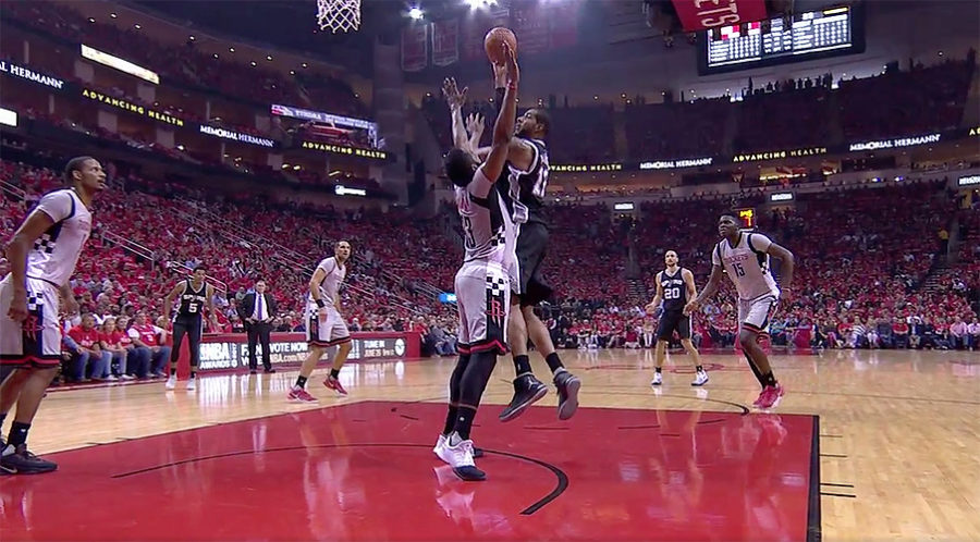 San Antonio Spurs vs. Houston Rockets