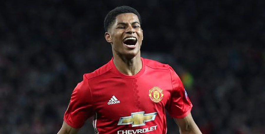 Marcus Rashford of Manchester United