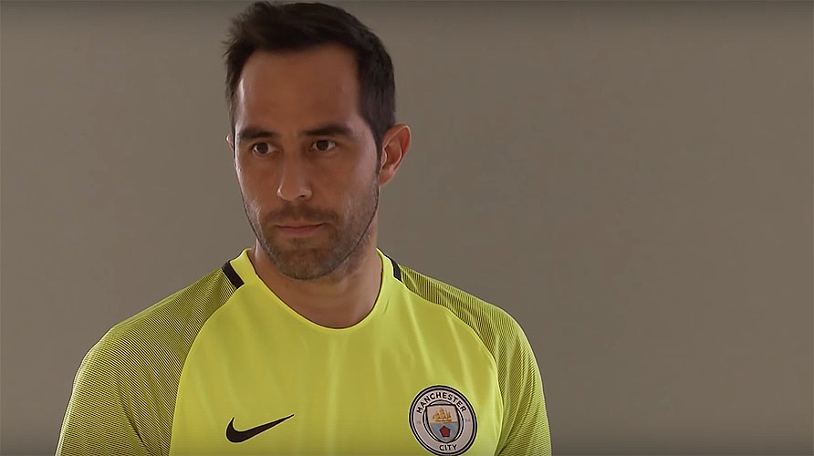 Claudio Bravo, Manchester City goalkeeper