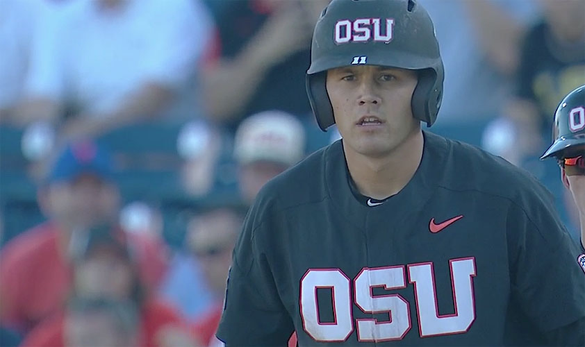 Oregon State at College World Series