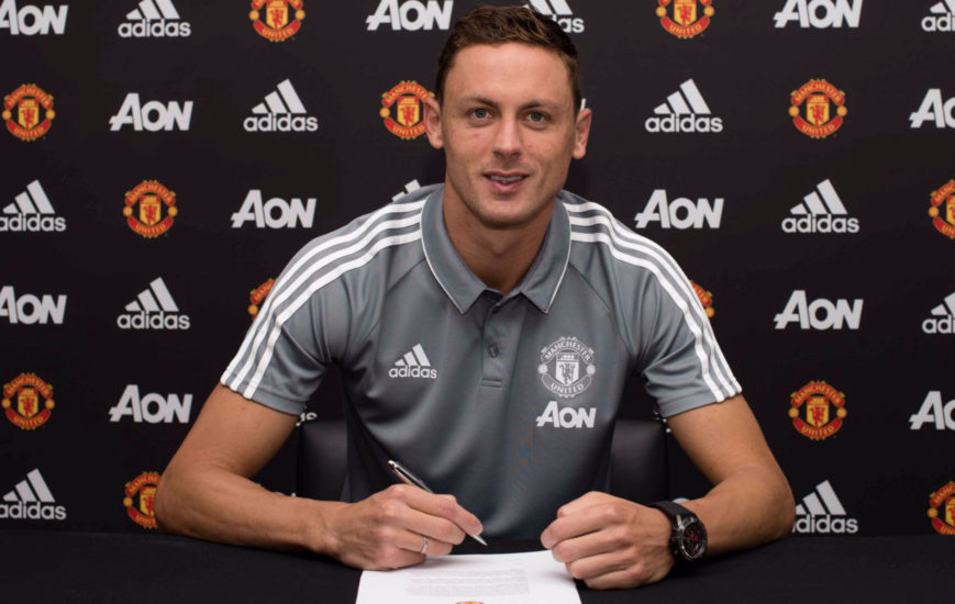 Nemanja Matic signs for Manchester United