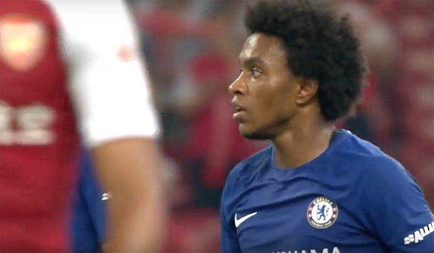 Chelsea v Arsenal: Willian