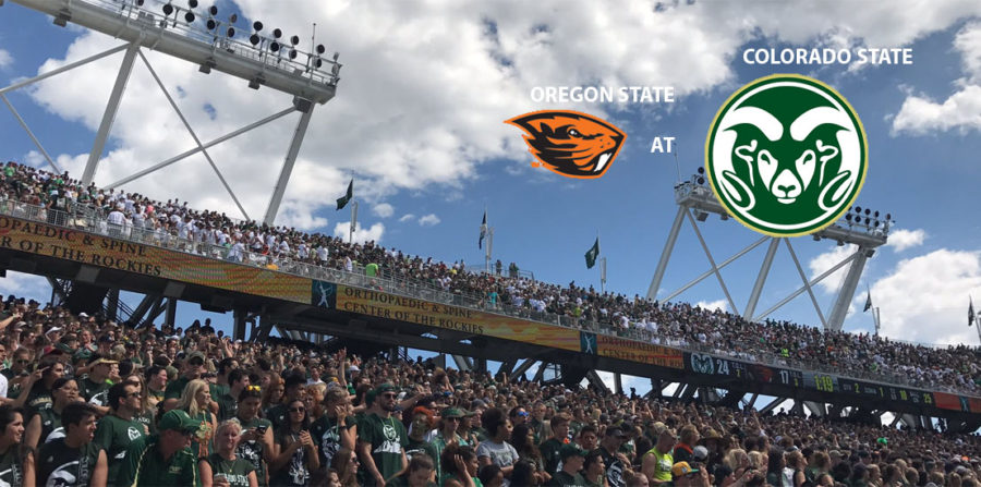 Colorado State v Oregon State college football