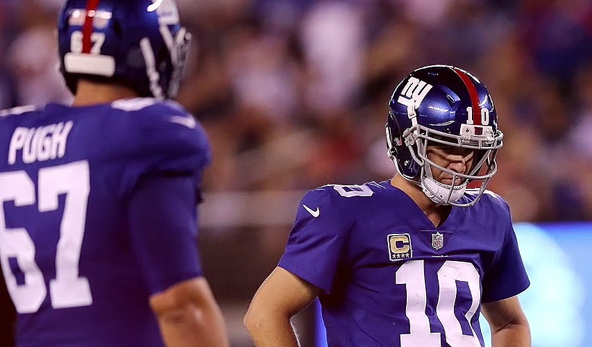 NFL: Eli Manning of the Giants