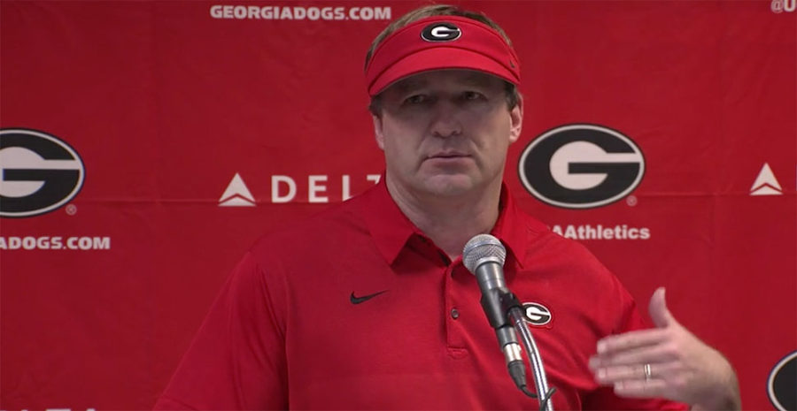 Kirby Smart Georgia Football coach