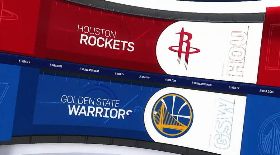 Golden State Warrior v Houston Rockets