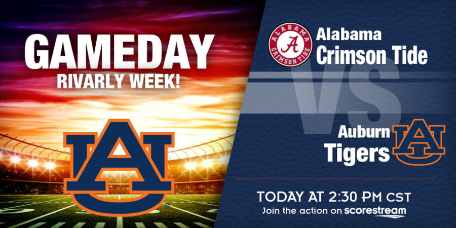 It's Alabama vs Auburn: Iron Bowl