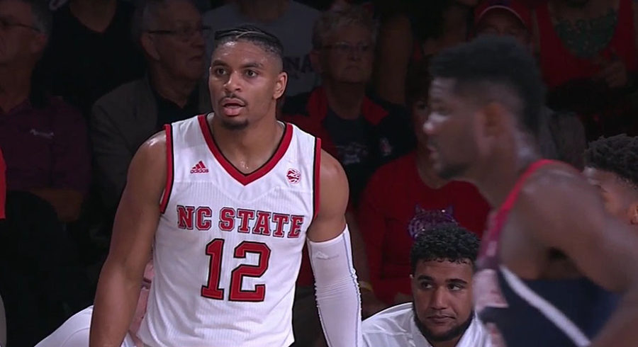 Allerik Freeman of NC State