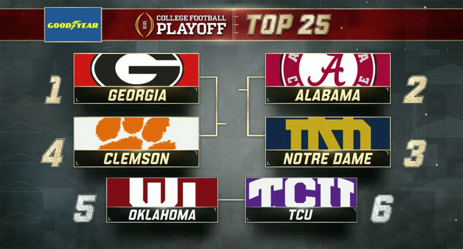 2017 College Football Playoff Rankings: Second Week