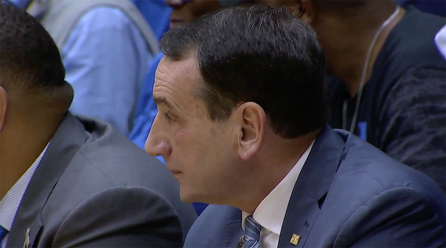 Mike Krzyzewski of Duke Blue Devils