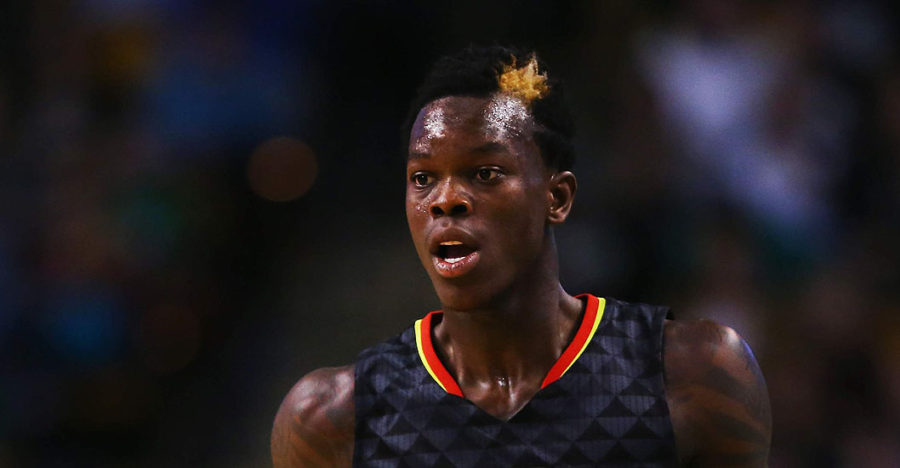 Dennis Schroder of the Atlanta Hawks