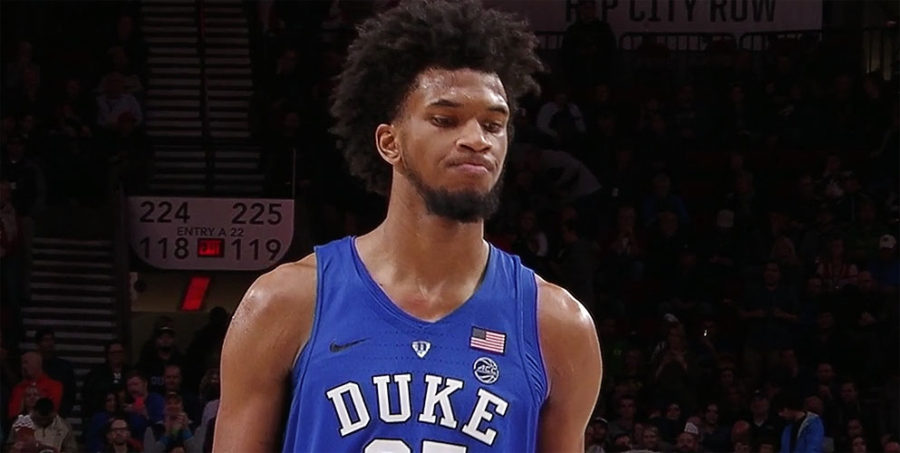 Marvin Bagley III for Duke at