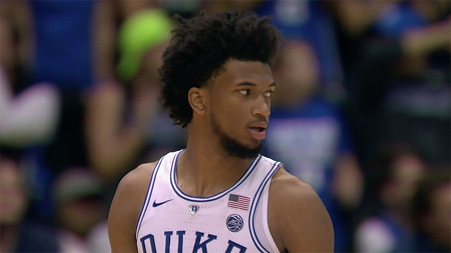 Marvin Bagley III of Duke Blue Devils