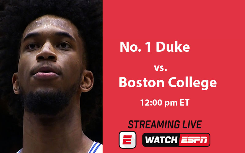 Duke Blue Devils v Boston College