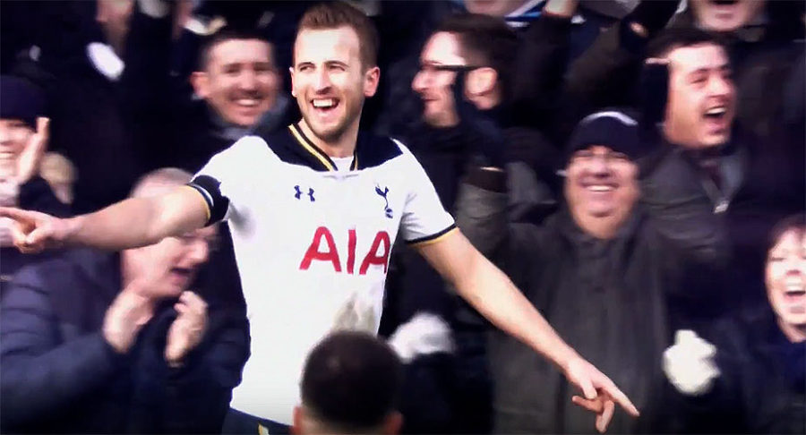 Harry Kane - Livescores English Premier League Standings