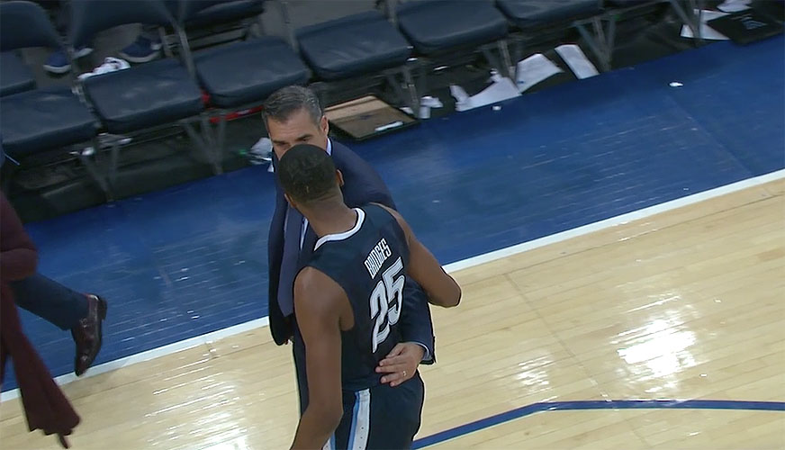 Villanova - Mikal Bridges and Jay Wright