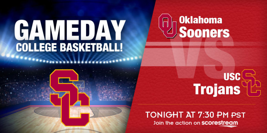 Trae Young, Oklahoma Take On No. 25 USC at Staples Center