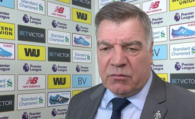 Sam Allardyce - Everton manager