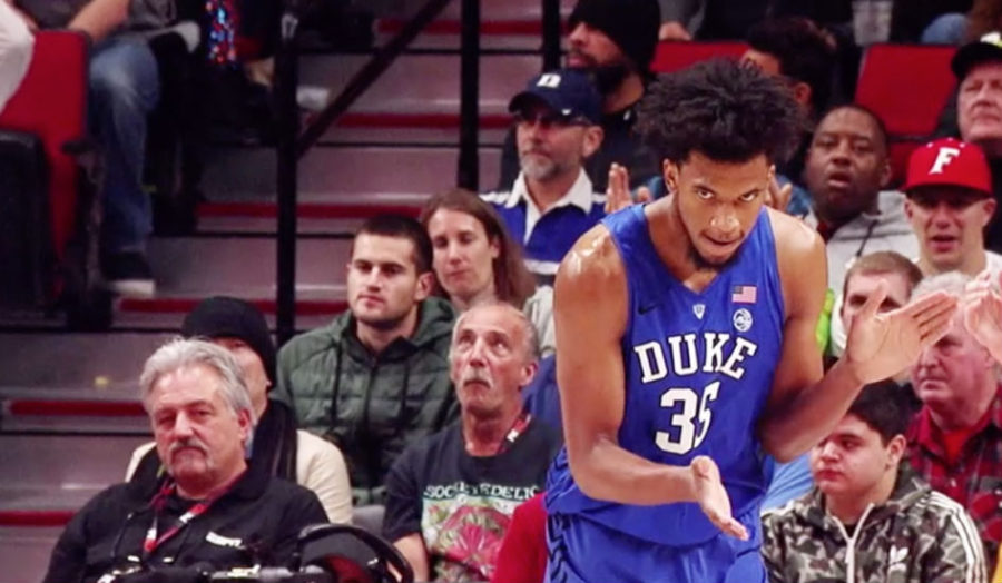 Marvin Bagley III from Duke Blue Devils College Basketball