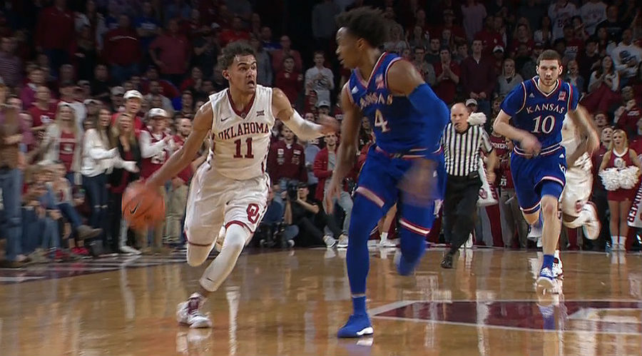 Trae Young Oklahoma Sooners