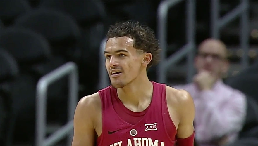 Trae Young of Oklahoma Sooners
