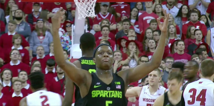 Winston, No. 2 Michigan State Hold Off Wisconsin, Secure Big Ten Title
