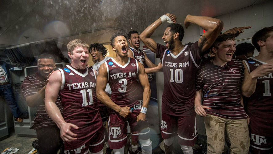 NCAA Tournament - Texas Aggies Basketball
