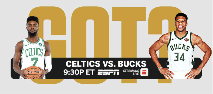 Watch the Celtics v Bucks live streaming on ESPN