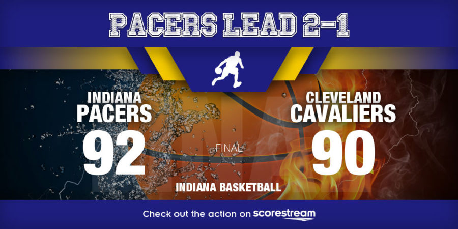 Indiana Pacers beat Cleveland Cavaliers