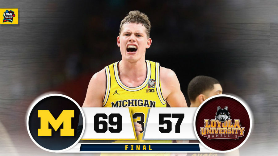 Michigan Final Four Win