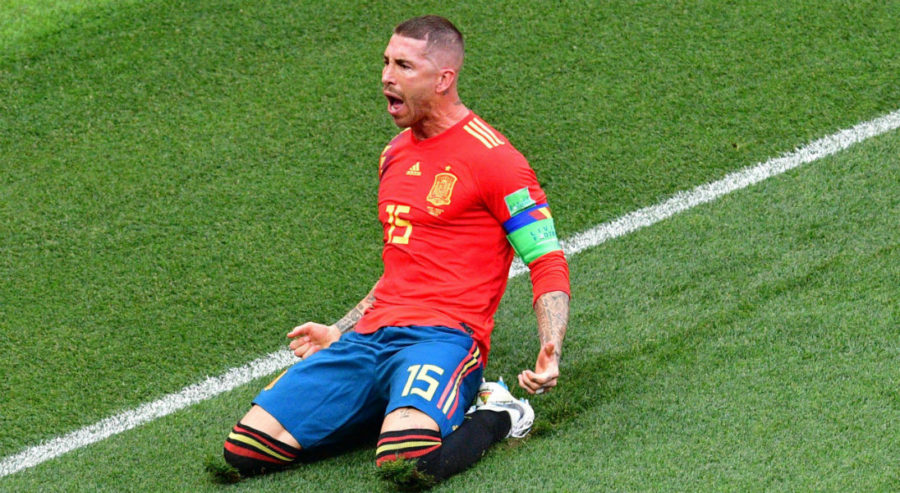 Halftime Score: Spain 1, Russia 1 – World Cup