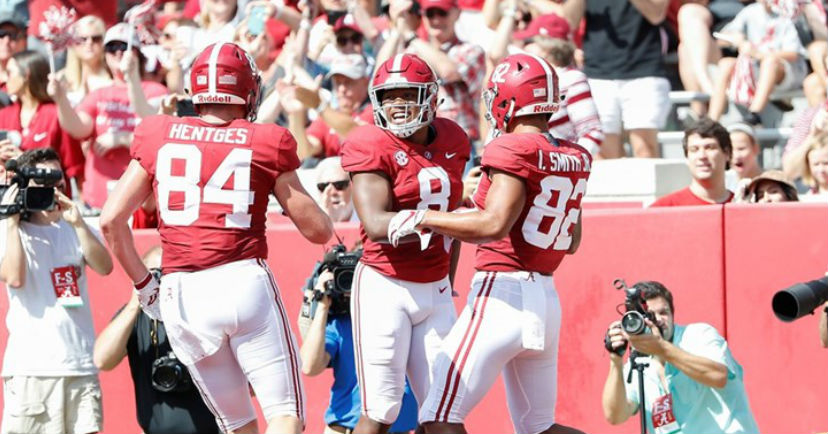 No. 1 Alabama Crushes Louisiana-Lafayette, 56-14 For 5th Win