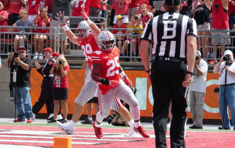 Mike Weber of Ohio State