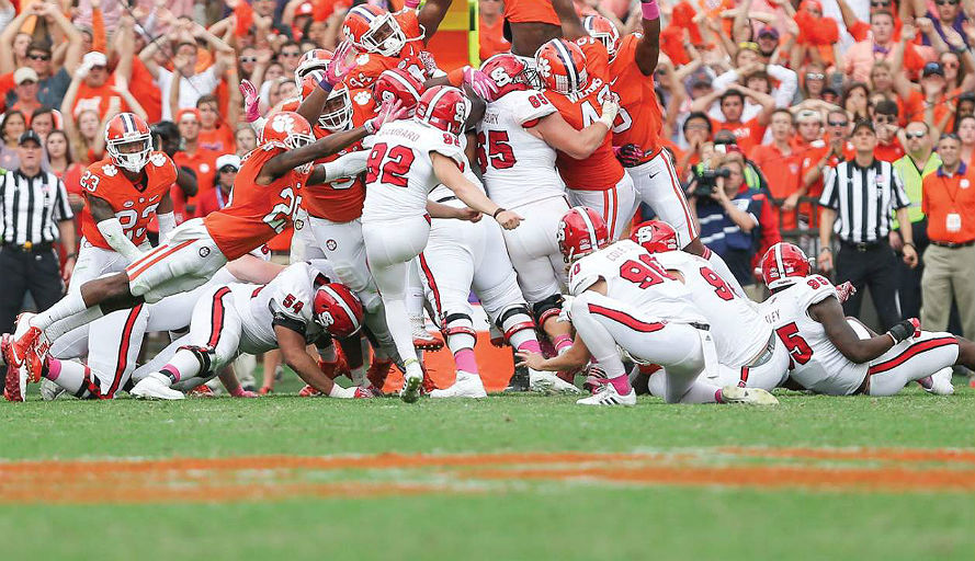 College football Clemson Tigers Football