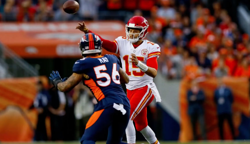 Mahomes, Kelce Guide Chiefs To 23-3 Win Over Broncos